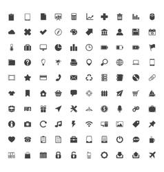Web icons big set vector