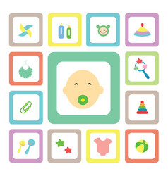 Icon for baby vector
