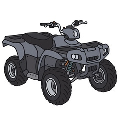 Small all terrain vehicle vector