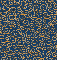 Luxury eastern seamless floral pattern vector