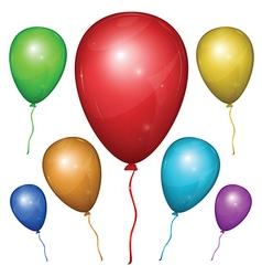 Balloon Color Set vector image vector image