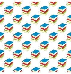 Book pattern seamless vector