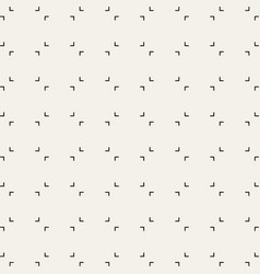 Clean minimal pattern vector