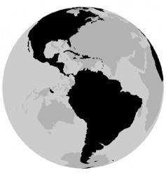 earth America vector image