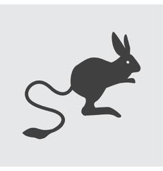 Jerboa icon vector image