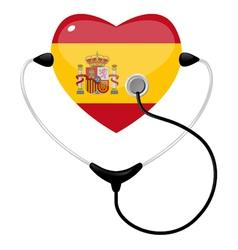 medicine spain vector image