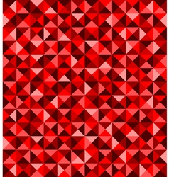 Red abstract seamless pattern vector image