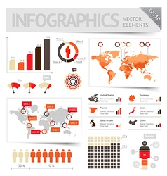 Infographic design elements vector