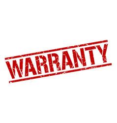 Warranty stamp vector