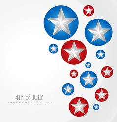 4th of juy independence day vector