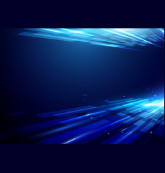 Abstract futuristic motion background vector