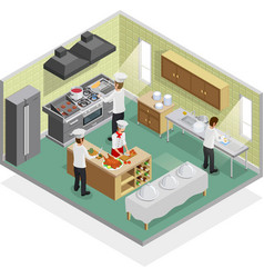 Restaurant Kitchen Concept vector image