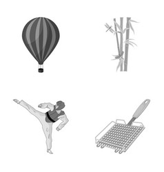 travel tourism business and other monochrome vector image vector image