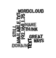Ways to think up a great domain name that s still vector