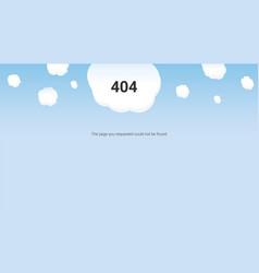 day web master oops error 404 vector image