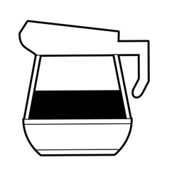 Kettle coffee related icon image vector
