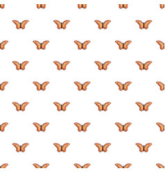 Monarch butterfly pattern seamless vector