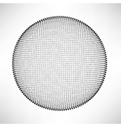 Circle isolated on white background vector