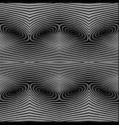 Design seamless monochrome lines background vector