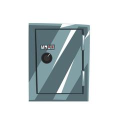 Metal safe armored box data protection vector