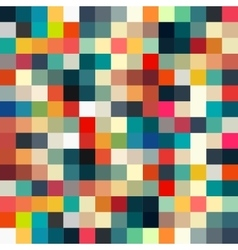 Abstract geometric retro pattern seamless for your vector