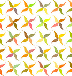 Autumn abstract leaf pattern background design vector