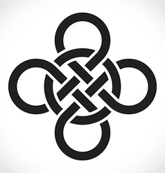 Celtic symbol vector image