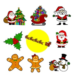 Christmas cartoon vector image vector image