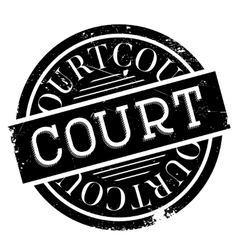 Court rubber stamp vector