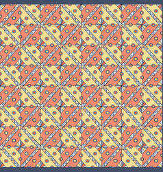 Geometric seamless pattern abstract ethnic vector