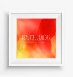 Orange ink paint colors background vector