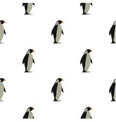 Penguin pattern seamless vector