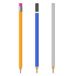 Sharpened pencil 07 vector