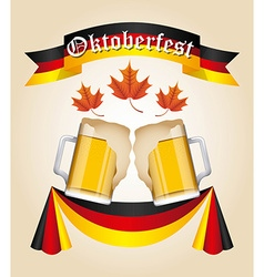 Welcome oktoberfest vector