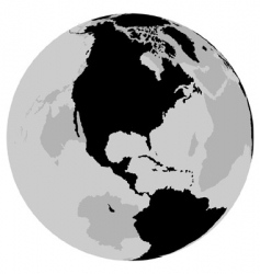 Earth usa vector