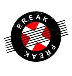 Freak rubber stamp vector