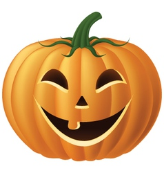 happy jack o lantern vector image