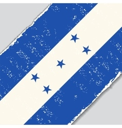 Honduras grunge flag vector