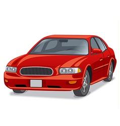 modern car sedan vector image vector image