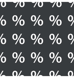 Straight black percent pattern vector