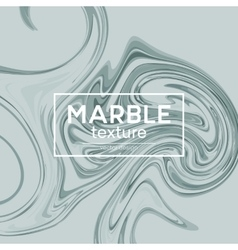 background with gray painted waves Marble vector image vector image