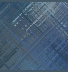 Blue glitch background vector