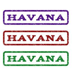 Havana watermark stamp vector