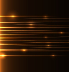 Orange speed laser vector