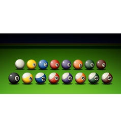 Pool Game vector image vector image