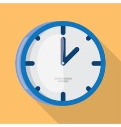Wall Clock icon flat design vector image