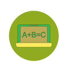 Back to school and education flat design vector