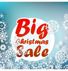 Christmas sale design template  eps10 vector