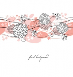 seamless illustration vector image