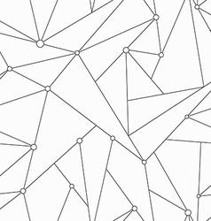 Monochrome technology triangle seamless texture vector